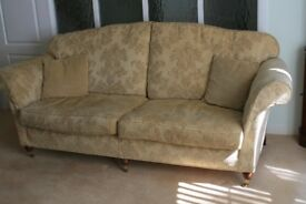 Large Comfy Sofa and Matching Arm Chair
