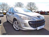 2009 (09) Peugeot 308 SW 1.6 HDi ESTATE   Yes Cars 4 u Ltd