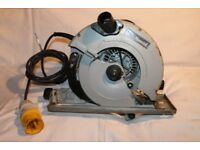 makita 5730r heavy duty circular saw. 190mm, 110v.