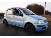 FIAT PANDA 1.25 DYNAMIC 5-DOOR IN LIGHT BLUE M.O.T till 8th July 2018 80,OOO MilesECONOMICAL40 M.P.G