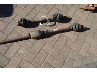 RENAULT MASTER CHISEL FRONT VAN DRIVE SHAFTS. VERY GOOD CONDITION