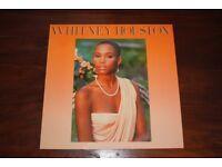 Self Titled Whitney Houston Vinyl LP