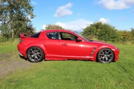 Mazda RX8 231+BHP FSH Freshly Rebuilt Rotary Revs Engine with 12month Warranty Many Mods Low Tax