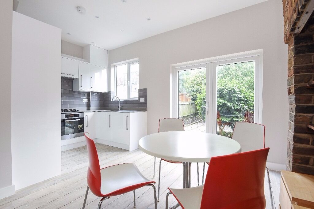 A handsome and newly refurbished four double bedroom house with a garden, situated on Deal Road.
