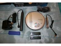 Panasonic SL-TC 700 Portable CD Player