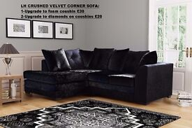 BRAND NEW (CORNER +3+2)AND BEDS AVAILABLE IN DIFERENT COLOURS