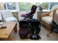Mamas & Papas 3 in 1 travel system, Pram Armadillo flip XT, Excellent conditions