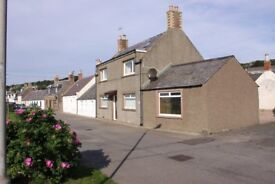 Johnshaven, Immaculate 3 Bed House, Views over Beach & Sea, Oil Central Heat & Double Glazed £700pcm