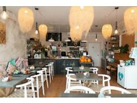CHEF - VEGETARIAN CAFE - FULL TIME