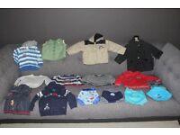 Large Bundle of Boys Clothes Aged 12 - 18 Months - BUNDLE 2