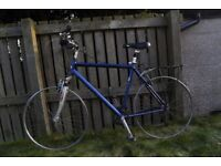 Bike with alloy frame - need some work