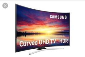 "40"" Curved SAMSUNG Smart 4K Ultra HD LED HDR TV UE40KU6100 warranty and delivered"