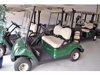 New Yamaha Golf Cars from Only £3,950 (+VAT)