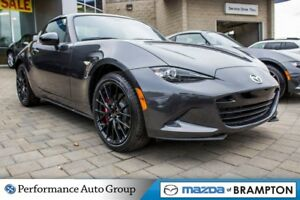 2017 Mazda MX-5 GS SPORT PKG, RECARO SEATS, 17 BBS ALLOYS