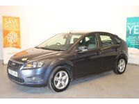 FORD FOCUS ZETEC 1.6 5 DOOR 2009 84,000 MILES ONLY METALLIC GREY STUNNING CAR