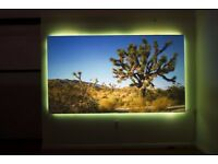 Elite Screens Aeon Edge Free Projector Screen AR100H2 CineGrey 100 inch