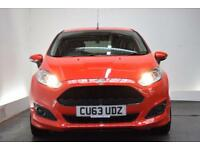 FORD FIESTA 1.0 ZETEC S [17 (red) 2013