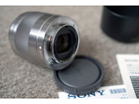 Sony prime fast lens 50mm f1.8 OSS - Sony e-mount (NEX,A3000-A6000 etc) - Boxed