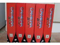 camera wise complete set of 5 binders