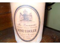 Rustic Terracotta Wine Cooler / Kitchen Utensil Holder - Great for Outdoor BBQ - Just £10