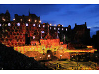 2 Edinburgh Tattoo tickets on 25.08.2018 at 22:30 (Last Show)
