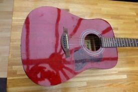 westfield b200 acoustic guitar