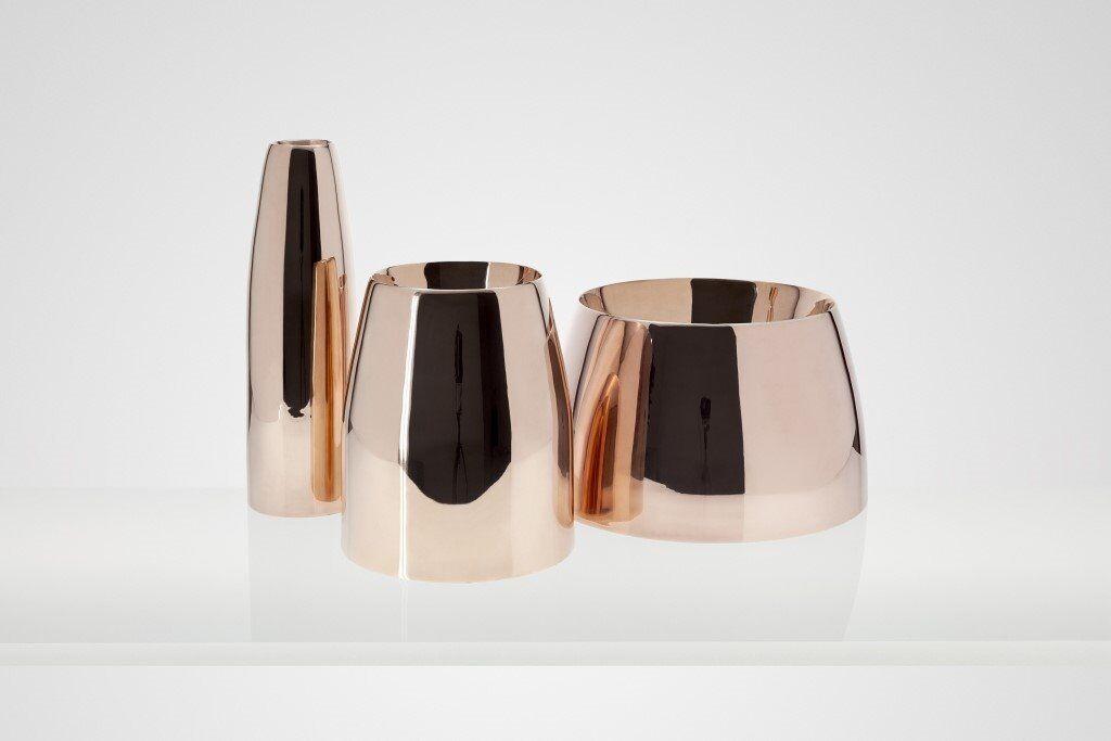 Tom Dixon Spun Vase Trio Rrp 500 Three Vases Heals Habitat West Elm