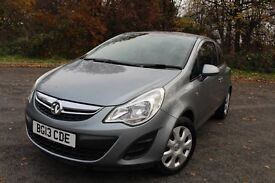 2013 Vauxhall Corsa AC , HPI Clear, 1.2 Petrol, 1 Owner Low Waranted Miles