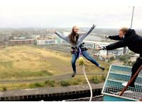 Bungee from the Titan Crane for Ronald McDonald House, Glasgow
