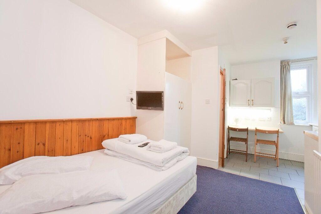 Double Studio Swiss Cottage £320 per week