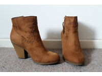 New Look Suedette Boots - £5