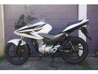 2012 Honda CBF125, White - ONLY 8,112 Miles, Great Condition