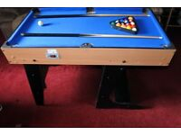 Riley multi games table. Pool, air hockey, table football, table tennis and much more.