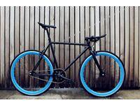 GOKU CYCLES !! Steel Frame Single speed road bike track bike fixed gear racing fixie bicycle t7m