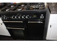 Rangemaster (Kitchen 90) 5 burners duel fuel, electric ovens and grill (fan assisted)