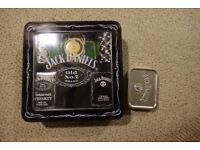 Jack Daniels poker set in a tin.
