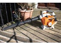 petrol Stihl SH86 hand held garden blower Excellent condition