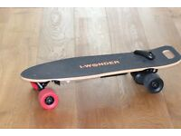 IWonder SK-A3 Electric Skateboard with Swappable Battery (Like Evolve, slick revolution)