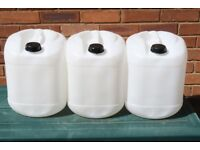 20L Plastic Jerry cans storage Drums HDPE 2 marked