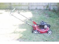 Garden Care LM46SP 1400cc Briggs & Stratton mower with collection box