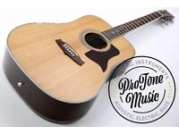 Tanglewood T15NS Dreadnought All Solid Acoustic Guitar Natural Satin
