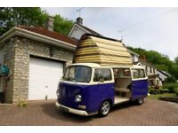 1971 VW Type 2 Bay Window Dormobile