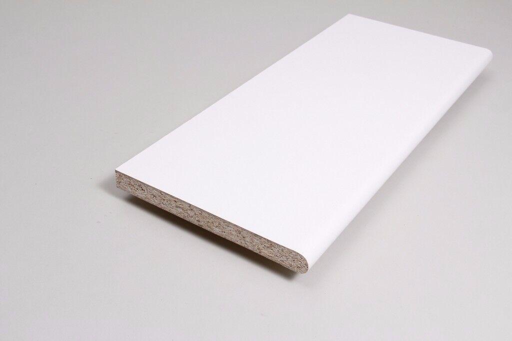 Internal Laminate PVC window Cill / Sill Board White, Golden Oak, Light Pine, Rosewood Brown