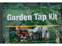 Garden Tap Kit ... as new, never installed, (open packaging) made of brass