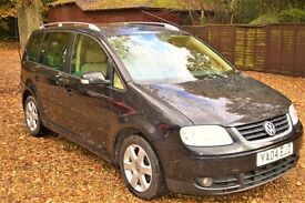Volkswagen Touran 2.0 Sport 5dr£2,490 p/x welcome HPI CLEAR 2004 (04 reg), MPV