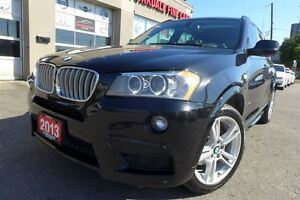 2013 BMW X3 xDrive35i M Sport Pkg, Navigation, No Accident
