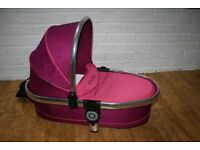 iCandy Peach 3 lower twin CARRYCOT pink Fuchsia CAN POST