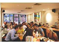 Dip & Flip Brixton - Looking for fun,energetic bar and floor staff. Full and part-time positions.