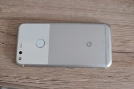 Google pixel silver 32gb ee with box and case Grade B