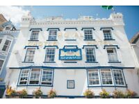 Front of House staff required- bar and restaurant waiting staff for the Royal Castle Hotel Dartmouth